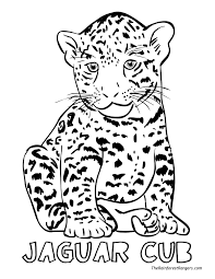 Small Picture Jaguar Coloring Pages Archives New Jaguar Coloring Pages glumme