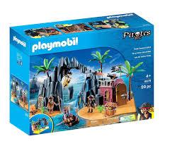 playmobil pirates treasure island 6679