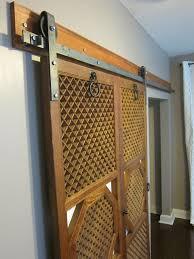 Diy Barn Door Track Barn Door Track System Home Depot Installing Barn Door Track