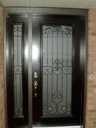 Front Doors Stupendous Front Door Glass Insert For Great Looks