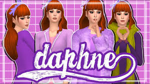 Sims 4: Create a Sim - Daphne (Scooby Doo) (Feat. stiiimulate) - YouTube