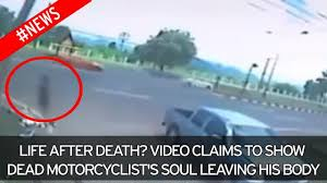 Chilling video 'shows woman's soul leaving her body after fatal ...