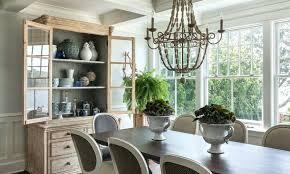 dining wood bead chandelier large antique whitewash full size