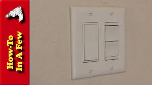 How To Install Decorative Bathroom Light Switches YouTube - Bathroom dimmer light switch
