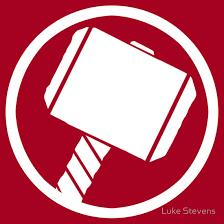 thor hammer logo. \ thor hammer logo b