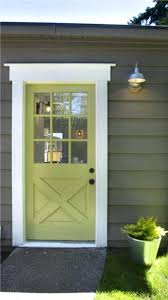 farmhouse style front doorsFront Doors  36 In X 80 In Chatham Camber Top Half Lite Painted