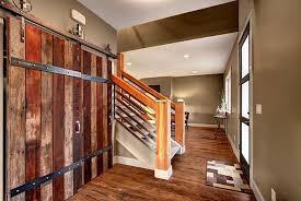 4 tags rustic entryway with nw artisan hardware aspen sliding barn door glass panel door barn