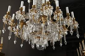 a magnificent crystal chandelier by baccarat 1