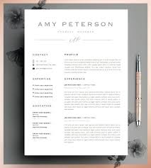 Template Resume 5 Page Resume Template Template Pack Cover Letter ...