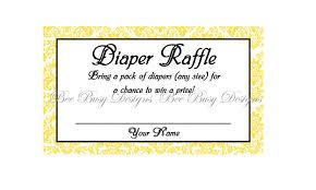 printable yellow damask diaper raffle tickets great for baby printable yellow damask diaper raffle tickets great for baby showers
