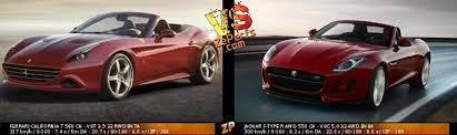 Ferrari California T Vs Jaguar F Type R Awd Duel 51215932