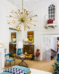 top 65 tremendous jonathan adler living room with gold starburst chandelier modern sputnik chandeliers for small