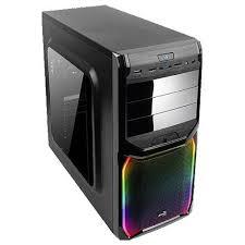 Компьютерный <b>корпус AeroCool V3X RGB</b> Window Black - купить ...