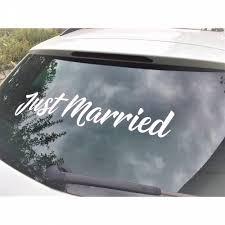 Gesamtanzahl ausmalbilder in allen kategorien: Aufkleber Just Married Fur Ihre Perfekte