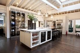 picturesque island kitchen modern. Kitchen: Contemporary Kitchen Design Idea Feat Oak Wood Flooring And Beautiful Island Furniture With Succulent Picturesque Modern H