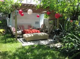 small backyard ideas no grass backyard makeover ideas quick fix garden ideas diy junk art
