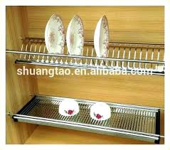 wooden plate racks for kitchens wall rack cabinet mounted dish drying kitchen ikea wooden dish drain wall mounted rack