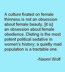 The Beauty Myth Quotes Best Of Thinness Great QuotesSayings Pinterest Feminism
