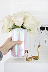 Holographic Vase DIY (click through for tutorial)