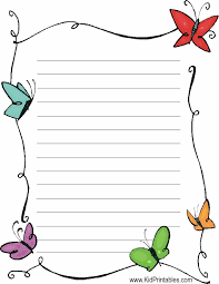 printable stationary paper