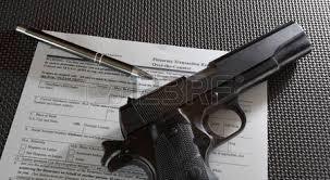 gun background check. Exellent Background Handgun And Pen On The Paperwork Required For A Gun Background Check Stock  Photo  50773498 On Gun Background Check