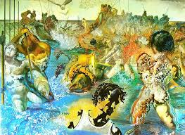 this painting is considered to be one of dali s last great masterpieces it took him two summers to create this art in which apart from surrealism
