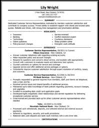 Example Of Resume