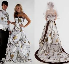 white camo wedding dresses for unique brides getswedding
