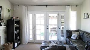 awesome adventures in diy french window treatment pics for door