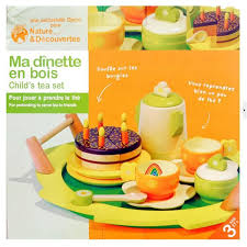 Bois Enfant à Thé Jouet Dimitation Dinette Achat Vente Dinette