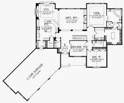 angled ranch house plans unique angled garage house plans inspirational plan dk craftsman