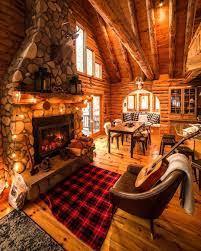 cozy winter fall guitar fireplace cabin cozycabin cottage cabin fireplace g40 fireplace