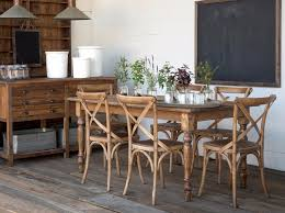 wooden farmhouse chairs. Delighful Chairs Wooden Farmhouse Table And Cross Back Chairs Park Hill Collection  Chairs To Wooden Farmhouse Chairs T