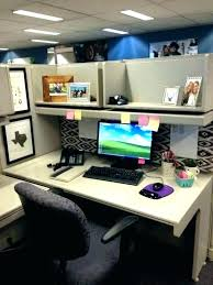 office desk decoration themes. Office Desk Decoration Ideas Decor Finest Top Cubicle Work . Themes G