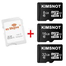 Máy ảnh thẻ sd wifi không dây ezshare bộ nhớ thẻ, bộ chuyển đổi thẻ micro  sd 4gb 8gb 16gb 32gb đầu đọc thẻ tf microsd - Sắp xếp theo liên quan