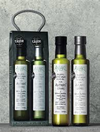 home organic olive oil gift set greek finishing oil from spend and donate