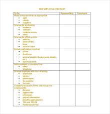 34 Word Checklist Templates Free Premium Templates
