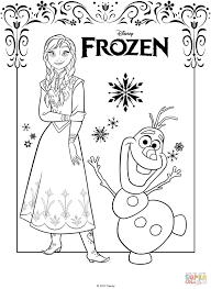 Elsa And Anna Coloring Page Frozen Free Printable With Pages