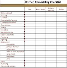 Kitchen Remodel Checklist Kitchen Remodel Purchase List Archives Hashtag Bg