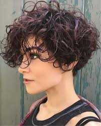 Kort Krullend Kapsel Kapsels Voor Vrouwen Haircuts For Women