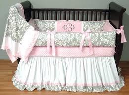lovebug baby bedding silver damask bedding this custom 3 baby crib bedding set includes a luxury plush love bug baby bedding keller tx
