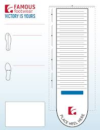 Kids Foot Sizing Chart Free Download