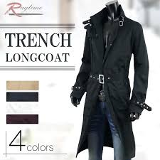 mens long trench coat coat white long coat trench coat black black white white single trench