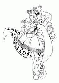 Film : Hard Coloring Books Monster High Monster High Drawings ...