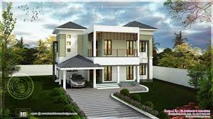 home design modern two storied house exterior home kerala plans