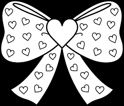 Small Picture terrific hearts with bows coloring page with girly coloring pages