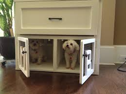 furniture style dog crate. Designer Dog Crate Furniture Luxury Furnitures Side Table Decorative Decoration Wood Style