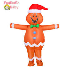 Fbaby   <b>Halloween Inflatable</b> Suit Adult <b>Gingerbread Man</b> Fancy ...