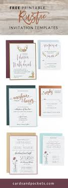 best 25 free invitation templates ideas on pinterest diy Custom Wedding Invitation Inserts free invitation templates that can be customized and printed to create diy rustic wedding invitations Insert Wedding Invitation Etiquette