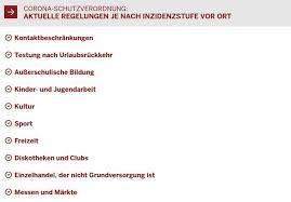 Jun 11, 2021 · etwas normalität in nrw: Ab Montag In Nrw Inzidenzstufe 1 Stadt Willich
